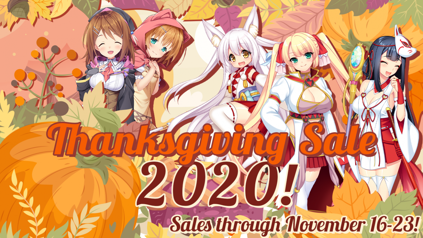 Thanksgiving Sale 2020 Is Now Live Kagura Games